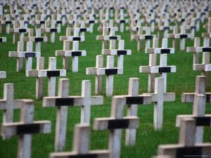 War Cemetery, Verdun, France by Setchfield Neil