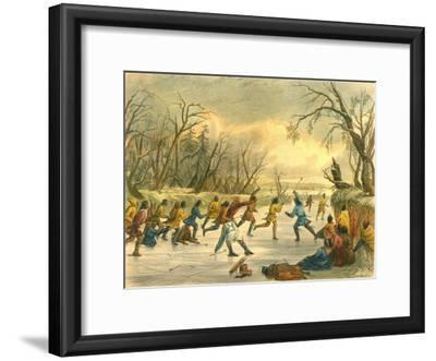 Ball Play on the Ice, 1853
