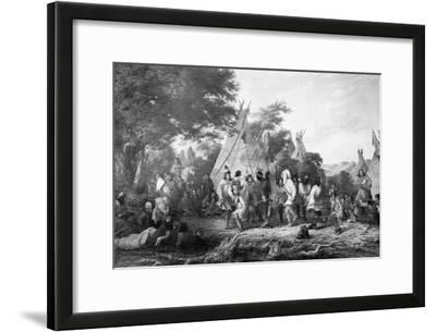 Dog Dance of the Dakotas, C1847