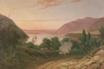 Hudson River with a Distant View of West Point, 1834