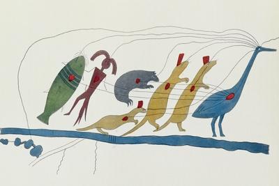 Symbolic Petition of Chippewa Chiefs Presented at Washington