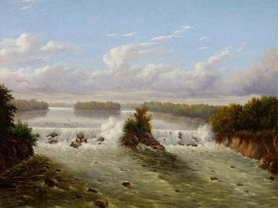 The Falls of St. Anthony, 1848