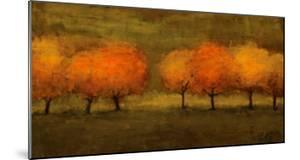 Red Trees II by Seth Winegar