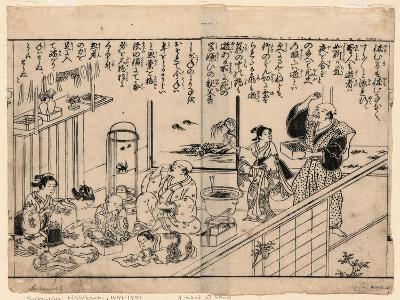 Setsubun Mamemaki--Giclee Print