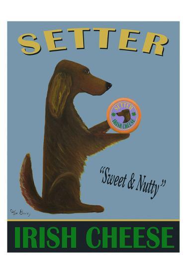 Setter Irish Cheese-Ken Bailey-Giclee Print