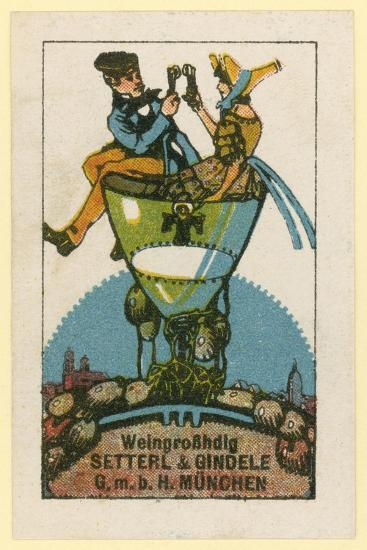 Setterl and Gindele Wine Wholesalers, Munich--Giclee Print