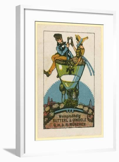 Setterl and Gindele Wine Wholesalers, Munich--Framed Giclee Print