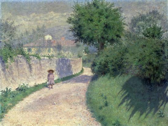 Settignano Laneway-Alfonso Testi-Giclee Print