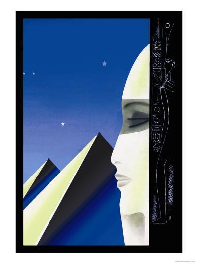 Setting for an Egyptian Story-Frank Mcintosh-Art Print