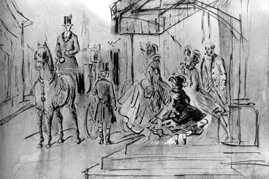 Setting Out, 19th Century-Constantin Guys-Giclee Print