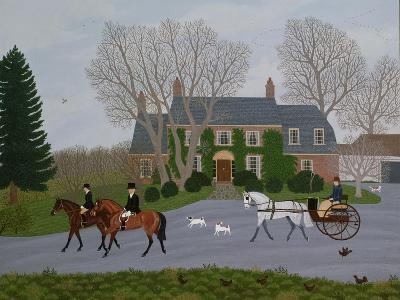 Setting Out for the Meet-Vincent Haddelsey-Giclee Print