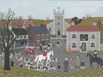 Setting Out from 'The Plough'-Vincent Haddelsey-Giclee Print