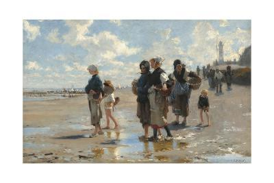 Setting Out to Fish, 1878-John Singer Sargent-Giclee Print