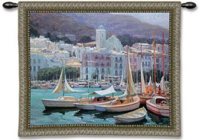 Setting Sail-Pascual Bueno-Wall Tapestry