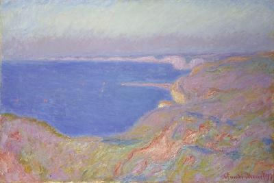 Setting Sun at Dieppe, 1897-Claude Monet-Giclee Print