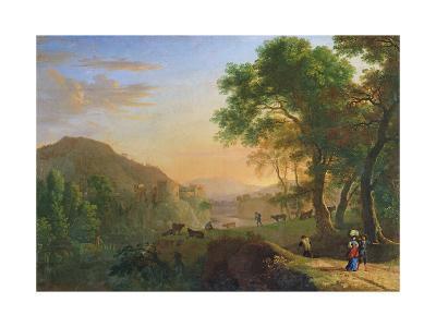 Setting Sun, Italy-Herman Van Swanevelt-Giclee Print
