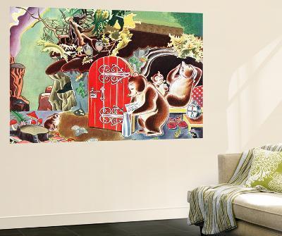 Settling Down for Winter - Jack & Jill-Frank Dobias-Wall Mural