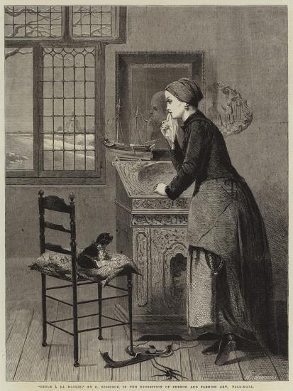 Seule a La Maison--Giclee Print