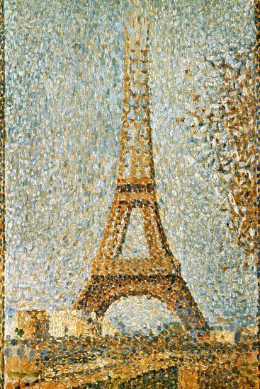 Seurat: Eiffel Tower, 1889-Georges Seurat-Giclee Print