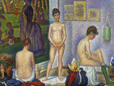 Seurat: Models, C1866-Georges Seurat-Giclee Print