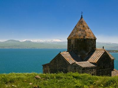 Sevanavank (Sevan Monastery) By Lake Sevan, Armenia, Caucasus, Central Asia, Asia-Michael Runkel-Photographic Print