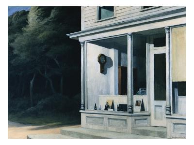 Seven A.M.-Edward Hopper-Giclee Print