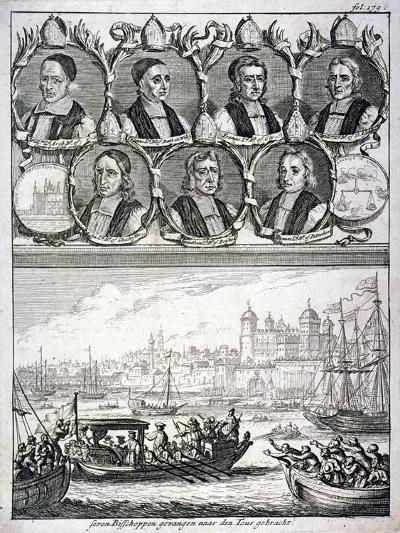 Seven Bishops and the Tower of London, C1700-Gabriel I Bodenehr-Giclee Print
