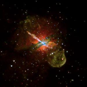Seven Day Chandra Exposure, Centaurus A Reveals Effects of Supermassive Black Hole at its Center