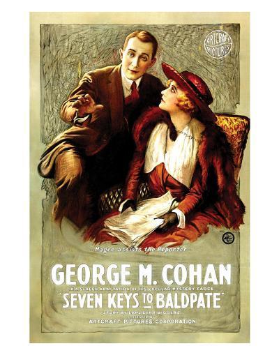 Seven Keys To Baldpate - 1917--Giclee Print
