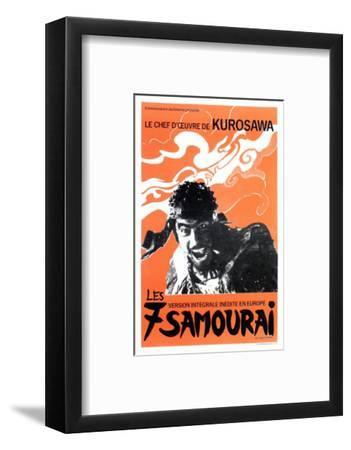 Seven Samurai, French Movie Poster, 1954