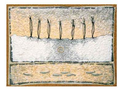 Seven Tied-Lorraine Roy-Art Print