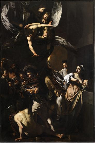 Seven Works of Mercy-Caravaggio-Giclee Print