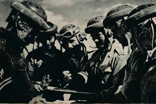 'Severe problems faced the tank crews', c1941 (1944)-Unknown-Photographic Print