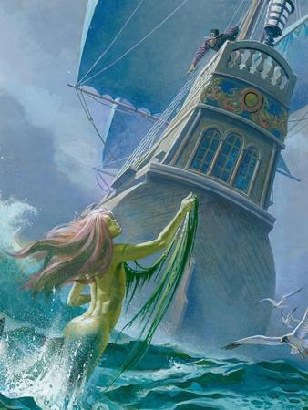 Mermaid Seen by One of Henry Hudson's Crew