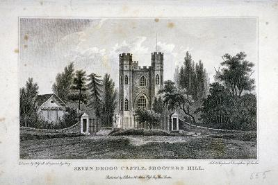 Severndroog Castle, Shooter's Hill, Woolwich, Kent, 1808-FR Hay-Giclee Print