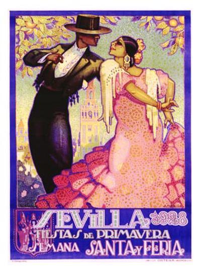 Sevilla-Juan Dapena Parilla-Giclee Print