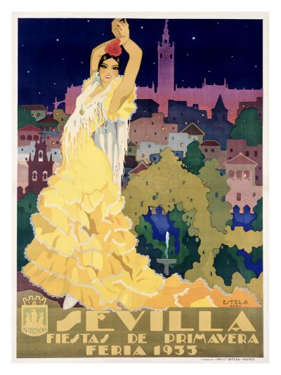 Sevilla-Estela-Giclee Print