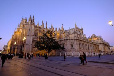 Seville Cathedral, Seville, Andalucia, Spain-Carlo Morucchio-Photographic Print