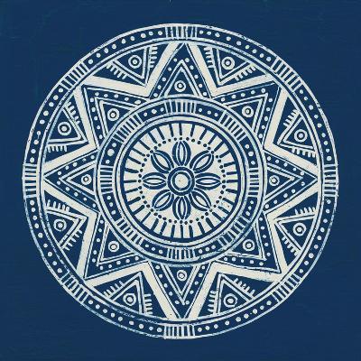 Seville I Dark Blue FB-Kathrine Lovell-Art Print