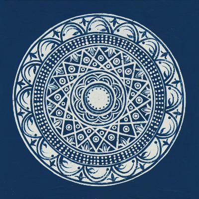 Seville III Dark Blue FB-Kathrine Lovell-Art Print
