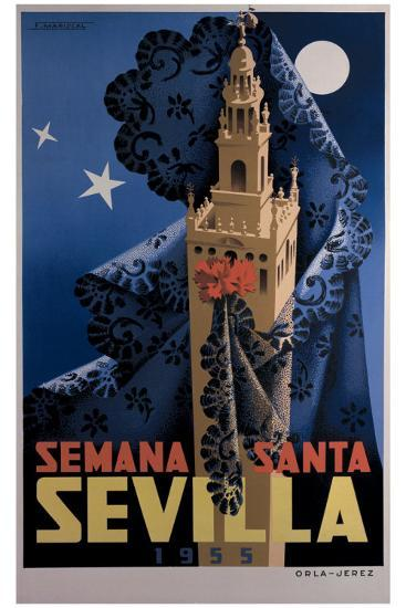 Seville-Orla-jerez-Giclee Print