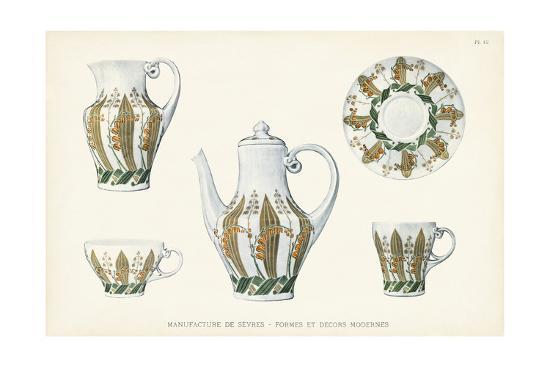 Sevres Porcelain Collection III-Vision Studio-Art Print
