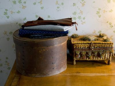 Sewing Box, Anne of Green Gables Home, Prince Edward Island, Canada-Cindy Miller Hopkins-Photographic Print