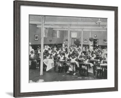 Sewing Class, Darenth Training Colony, Kent-Peter Higginbotham-Framed Photographic Print