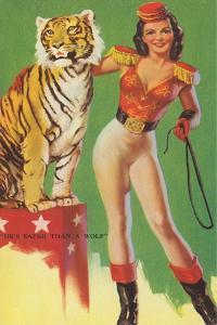 Sexy Lion Tamer
