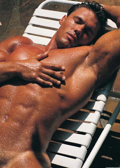 Sexy Sunbathing-Tom Murray-Art Print