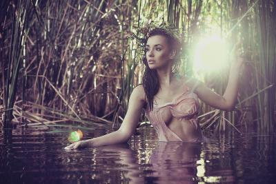 Sexy Woman in Water-conrado-Photographic Print