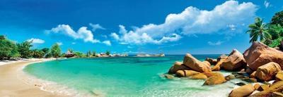 Seychelles Islands - Panoramic View