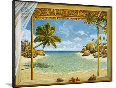 Seychelles View-Andrea Del Missier-Framed Art Print