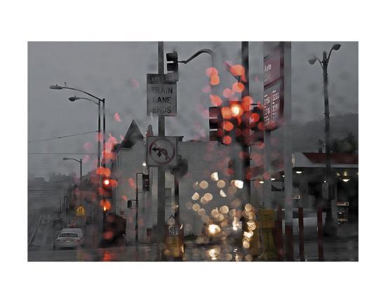 SF Early and Wet-David Lorenz Winston-Art Print
